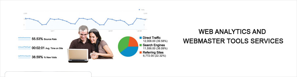 web analytics services in India, web master services in India, web analytics & web master solution provider company India